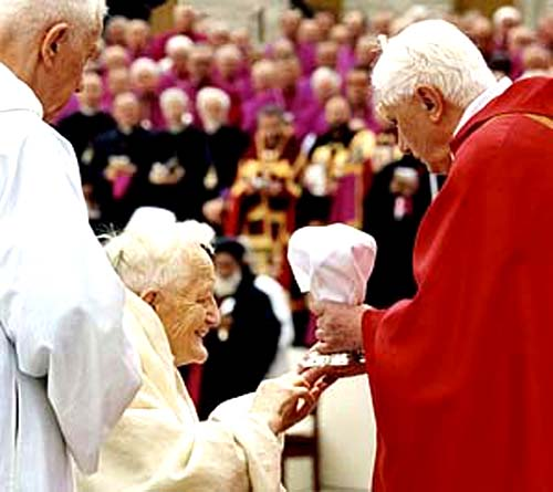 Ratzinger communion to heretic